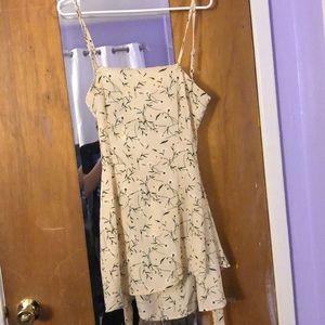 Zaful Flower Mini Dress